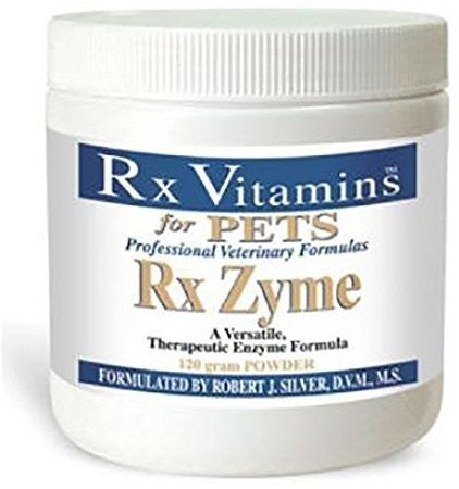 Rx Vitamins for Pets Rx Zyme Powder 120 Gram Digestion Exp.5.21 IHI