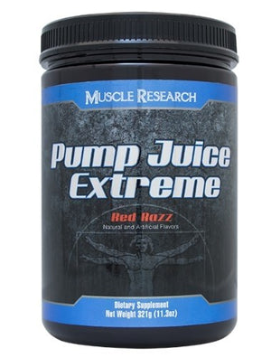 Muscle Research Pump Juice Extreme Red Razz 30 Servings MLX
