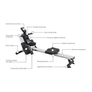 Stamina Magnetic Rowing Machine 35-1110 Prop 65