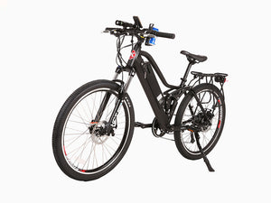 Xtreme Scooters Sedona 48V Electric Step-Through Mountain Bicycle Black
