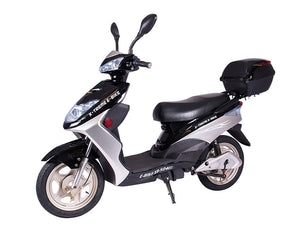 Xtreme Scooters XB-504 Electric Bicycle Moped Black XB504BLA