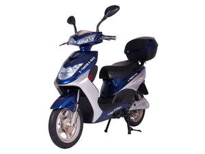 Xtreme Scooters XB-504 Electric Bicycle Moped Blue XB504BLU