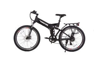 Xtreme Scooters X-Cursion Elite Electric Folding Mountain Bicycle Black
