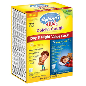 Hyland's 4 Kids Cold'N Cough Day & Night Value Pack 8 Fl Oz 234830 OC