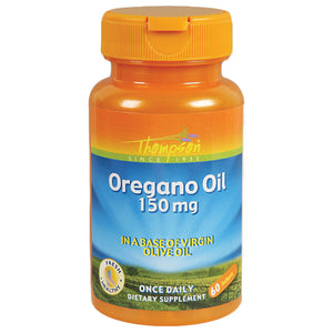 Thompson Herbs Oregano Oil 150 Mg 60 Softgels 215620 OC