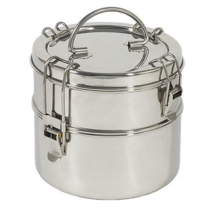 Chicobag To-Go Ware Stainless Steel Food Containers Tiffin, 2 Tier 233325 OC