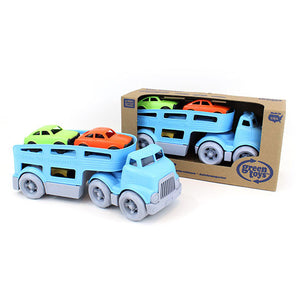 Green Toys Vehicles Truck & Mini Car Carrier Set 3 Plus Years 232532 OC