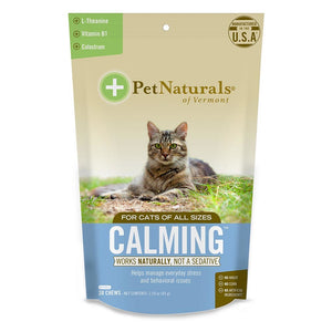 Pet Naturals For Cats Calming 30 Chews Unless Noted 235277 OC
