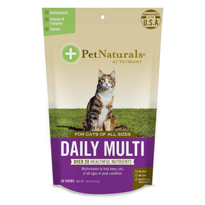 Pet Naturals For Cats Daily Multivitamin 30 Chews Unless Noted 235275 OC