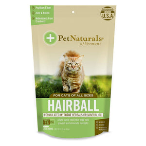 Pet Naturals For Cats Hairball 30 Chews Unless Noted 235278 OC