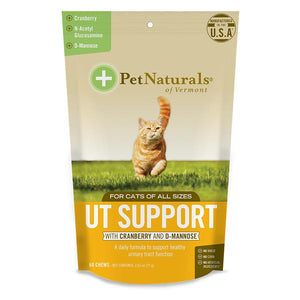 Pet Naturals For Cats Ut Support 60 Count 30 Chews Unless Noted 235266 OC