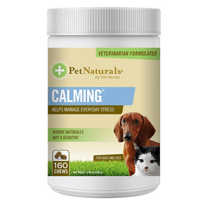Pet Naturals For Dogs & Cats Calming 160 Count 235283 OC