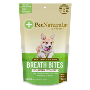 Pet Naturals For Dogs Breath Bites 60 Count 235269 OC