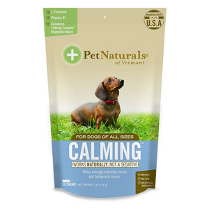 Pet Naturals For Dogs Calming 30 Chews 235274 OC