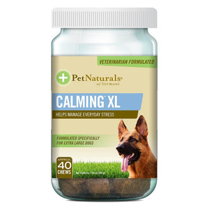 Pet Naturals For Dogs Calming Xl 40 Tablets 235282 OC