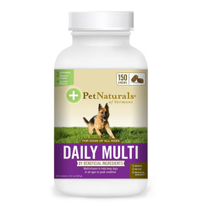 Pet Naturals For Dogs Daily Multivitamin 150 Tablets 235284 OC