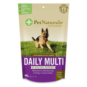 Pet Naturals For Dogs Daily Multivitamin 30 Chews 235270 OC