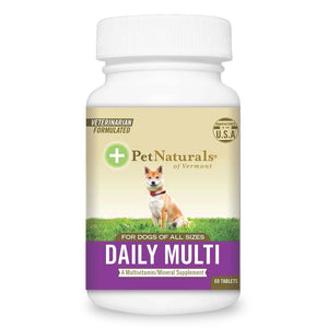 Pet Naturals For Dogs Daily Multivitamin 60 Tablets 235279 OC