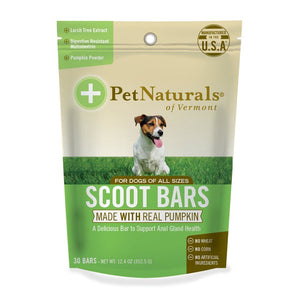 Pet Naturals For Dogs Scoot Bars 30 Count 235268 OC