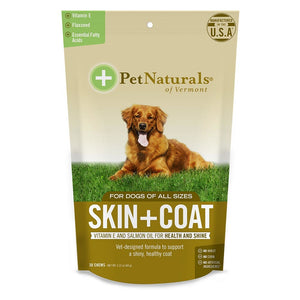 Pet Naturals For Dogs Skin & Coat 30 Chews 235273 OC