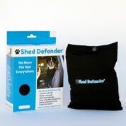 Shed Defender Reduce Dog Hair Shedding & Anxiety Black XS Open Box IHI
