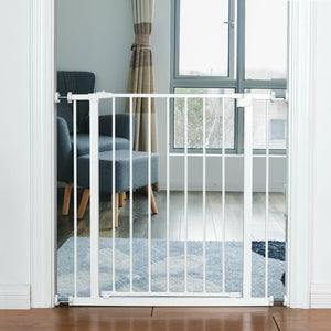 Child Pets Safety Gate Door Metal Easy Locking System PS7228 WC