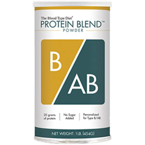 D'Adamo Personalized Nutrition Protein Blend Powder B AB 1 lb BT010BAB ME