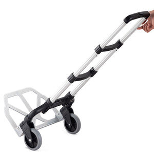 Folding 176 Lbs Capacity Heavy Duty Hand Truck with 2 Wheels TL33860 WC - NutritionalInstitute.com
