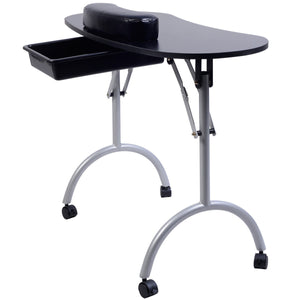 Portable Manicure Nail Table Station Spa Equipment HB82300 WC - NutritionalInstitute.com