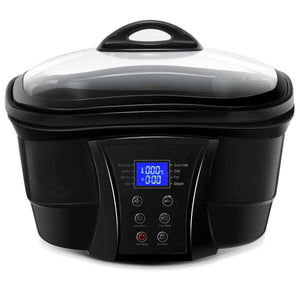 8 In 1 Multi 5.3 Quart Programmable Non Stick Slow Cooker EP23594 WC