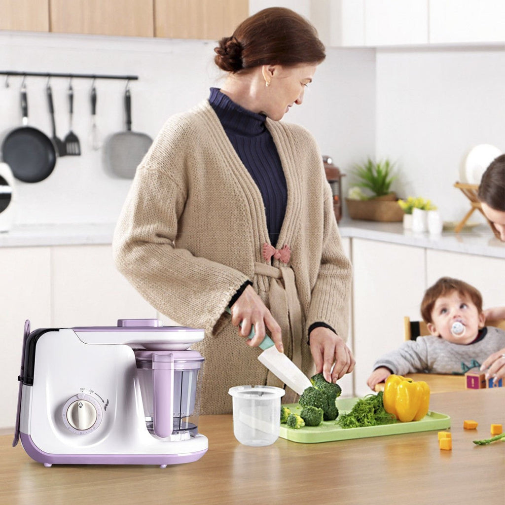 5 In 1 Heating Defrosting Baby Food Maker Infant Feeding Blender EP23457 WC