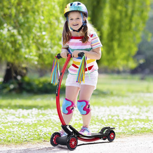 Aluminum Foldable Kick U Shape Kids Scooter SP0554 WC