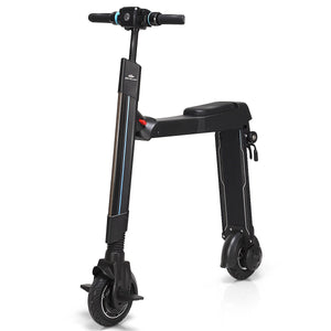Led Bluetooth Folding Electric Scooter with Removable Seat SP0563 WC