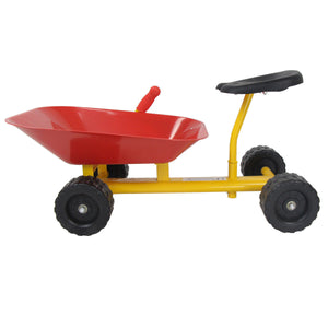 "8"" Heavy Duty Kids Ride On Sand Dumper with 4 Wheels TY571754 WC"