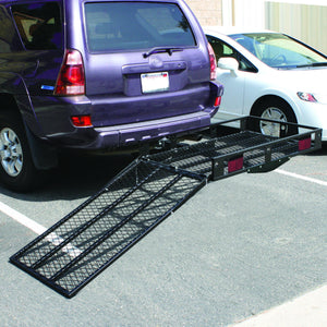 500 Lbs Folding Strong Loading Ramp Wheelchair Carrier AT4621 WC