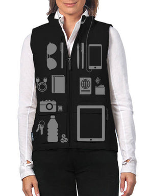 Scottevest Women's Q.U.E.S.T. 42 Pockets Photography Travel Vest Black Medium1 - NutritionalInstitute.com