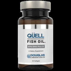 Douglas Labs Quell Fish Oil EPA DHA Plus D 60 softgels 20098160X