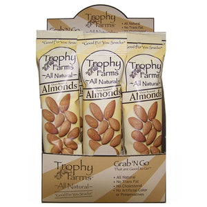 Trophy Farms Almonds 2 oz 12 Packs 228340 2 PACK OC