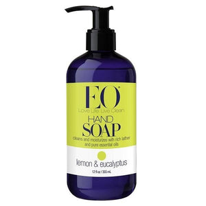EO Lemon & Eucalyptus Liquid Hand Soap 12 fl oz 219367 2 PACK OC