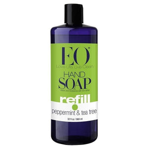 EO Peppermint & Tea Tree Hand Soap 32 fl oz 219370 2 PACK OC