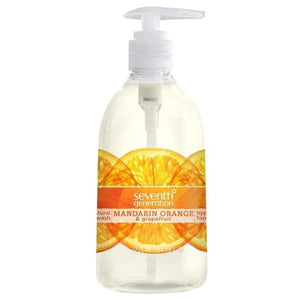 Seventh Generation Mandarin Orange Grapefruit Hand Wash 12fl.oz.228777 2 PACK OC