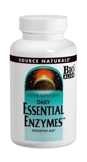 Source Naturals Essential Enzymes 120 caps SN0660 - NutritionalInstitute.com