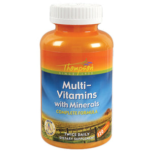 Thompson Multi Vitamin Mineral 120 tablets 214490 2 PACK OC