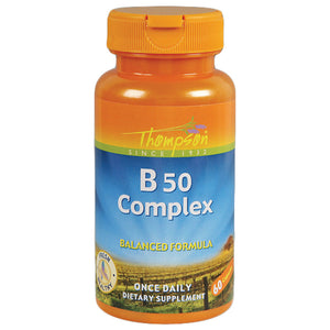 Thompson B 50 Complex 60 capsules 214505 2 PACK OC