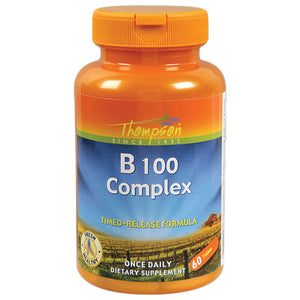 Thompson B 100 Complex 60 time released tablets 213217 2 PACK OC