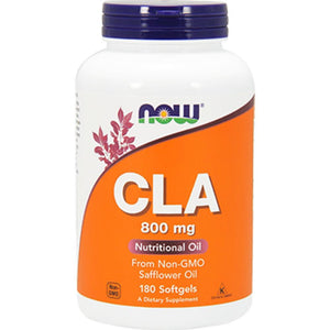 NOW CLA 800mg 180 gels 1728 NS