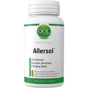 QOL Labs Quality of Life Labs Allersol 60 vcaps allersol