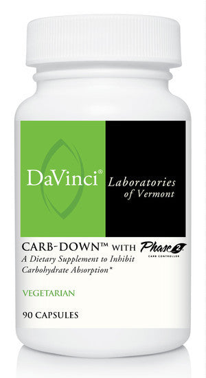 Davinci Labs Carb Down Support Appetite Control 90 Capsules Jan.2021 IHI