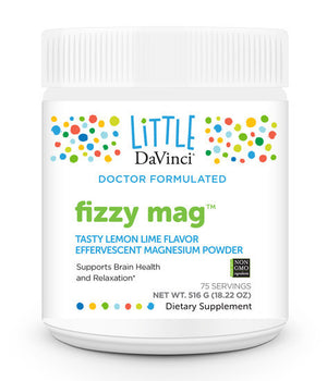 Davinci Labs Fizzy Mag Helps Brain Health & Relaxation 75 Servings July.2020 IHI