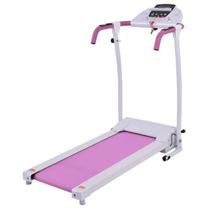 800 W Folding Fitness Treadmill Running Machine Pink SP35309color - NutritionalInstitute.com